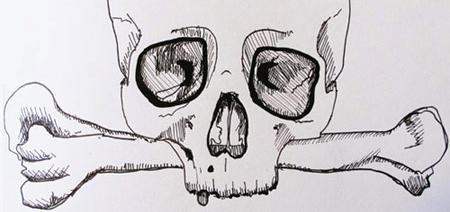 Skull Detal
